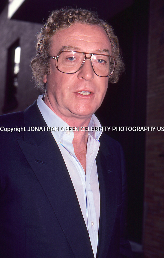 Michael Caine 1987 By Jonathan Green<br />