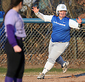 Wixom St. Catherine at Waterford Our Lady of the Lakes, varsity softball, 4/13/16