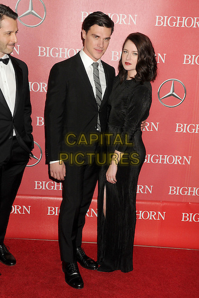 2 January 2016 - Palm Springs, California - Finn Wittrock, Sarah Roberts. 27th Annual Palm Springs International Film Festival Awards Gala held at the Palm Springs Convention Center.  <br /> CAP/ADM/BP<br /> &copy;BP/ADM/Capital Pictures