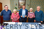 At the St Vincent de Paul Society meeting in Tralee on Tuesday night a presentation was made to Junior Locke, Aileen Kennelly and Honor O&rsquo;Connor in Ozaman House.   <br /> L to r: Paddy Kevane (Tralee Area President), Aileen Kennelly (On behalf of her husband Emmet for 60 years service), Junior Locke, Honor O&rsquo;Connor, (Awarded for 50 years service) and Christy Lynch (Regional President for Cork and Kerry)