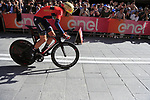 Vincenzo Nibali (ITA) Bahrain-Merida off the start ramp of Stage 1 of the 2019 Giro d'Italia, an individual time trial running 8km from Bologna to the Sanctuary of San Luca, Bologna, Italy. 11th May 2019.<br /> Picture: Eoin Clarke | Cyclefile<br /> <br /> All photos usage must carry mandatory copyright credit (© Cyclefile | Eoin Clarke)