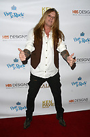 HOLLYWOOD, CA - NOVEMBER 8: Sebastian Bach at the Pop-Up Art Show by Billy Morrison and Steve Stevens at Ken Paves Salon in West Hollywood, California on November 8, 2019. Credit: David Edwards/MediaPunch