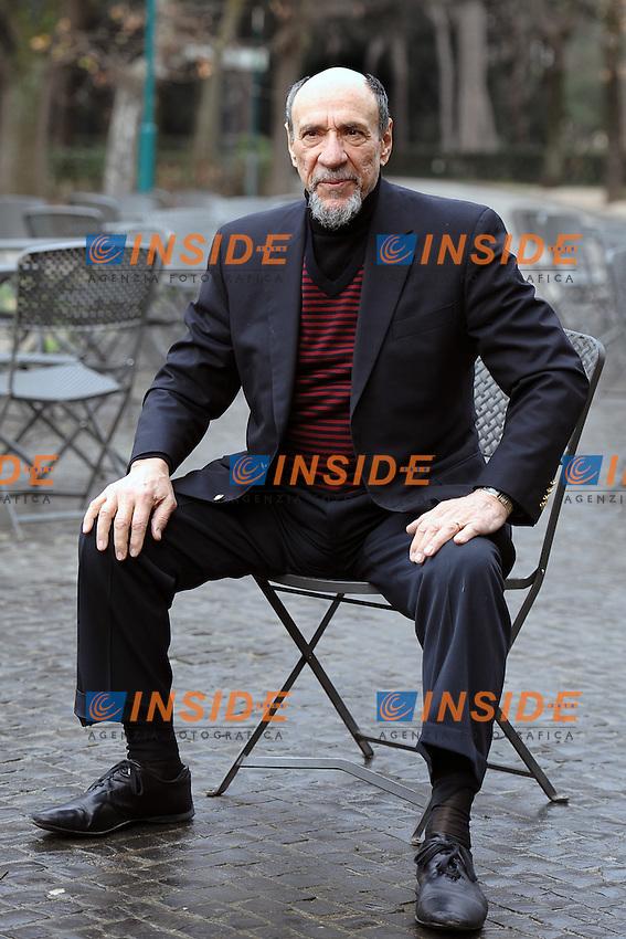 F Murray Abraham<br /> 29-01-2014 Roma, photo call del film &quot;Il Mistero di Dante&quot;.<br /> Foto Antonietta Baldassarre / Insidefoto