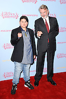 "Julian Dennison and Sam Neill<br /> at the ""Hunt for the Wilder People"" premiere, Picturehouse Central, London.<br /> <br /> <br /> ©Ash Knotek  D3153  13/09/2016"