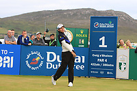 Phachara Khongwatmai (THA) on the 1st tee during Round 1 of the Dubai Duty Free Irish Open at Ballyliffin Golf Club, Donegal on Thursday 5th July 2018.<br /> Picture:  Thos Caffrey / Golffile