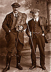 Early 20th century golfers, Victorian/Edwardian era