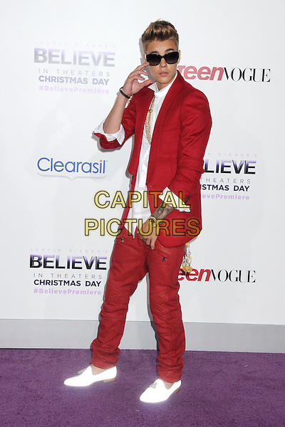 18 December 2013 - Los Angeles, California - Justin Bieber. 'Justin Bieber's Believe' World Premiere held at Regal Cinemas L.A. Live. <br /> CAP/ADM/BP<br /> &copy;Byron Purvis/AdMedia/Capital Pictures