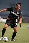 3 July 2004: Jaime Moreno in the first half. DC United defeated the MetroStars 6-2 at RFK Stadium in Washington, DC during a regular season Major League Soccer game..