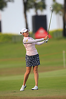Sarah Jane Smith (AUS) in action on the 10th during Round 3 of the HSBC Womens Champions 2018 at Sentosa Golf Club on the Saturday 3rd March 2018.<br /> Picture:  Thos Caffrey / www.golffile.ie<br /> <br /> All photo usage must carry mandatory copyright credit (&copy; Golffile   Thos Caffrey)