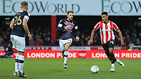 Ollie Watkins of Brentford in action during Brentford vs Luton Town, Sky Bet EFL Championship Football at Griffin Park on 30th November 2019