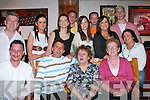 SURPRISE PARTY: Alan Cane, St Brendan's Park got a big surprise when his family and friends held a surprise party for him at Turners Bar on Friday night seated l-r: Danny Moriarty, Alan and Esther Cane and Ann Turner. Back l-r: Kieran King, Grainnie and Mairead Cronin, Owen and Emily Cane, Mark and Esther Cronin, Darren Cane and Sinead Cronin.   Copyright Kerry's Eye 2008