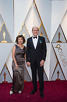 Oscar&reg; nominee Richard Jenkins and Sharon R. Friedrick arrive on the red carpet of The 90th Oscars&reg; at the Dolby&reg; Theatre in Hollywood, CA on Sunday, March 4, 2018.<br /> *Editorial Use Only*<br /> CAP/PLF/AMPAS<br /> Supplied by Capital Pictures