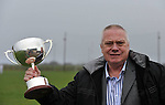 """26-2-2012: Paidi O""""Se with the Dermot Earley cup..Picture by Don MacMonagle"""