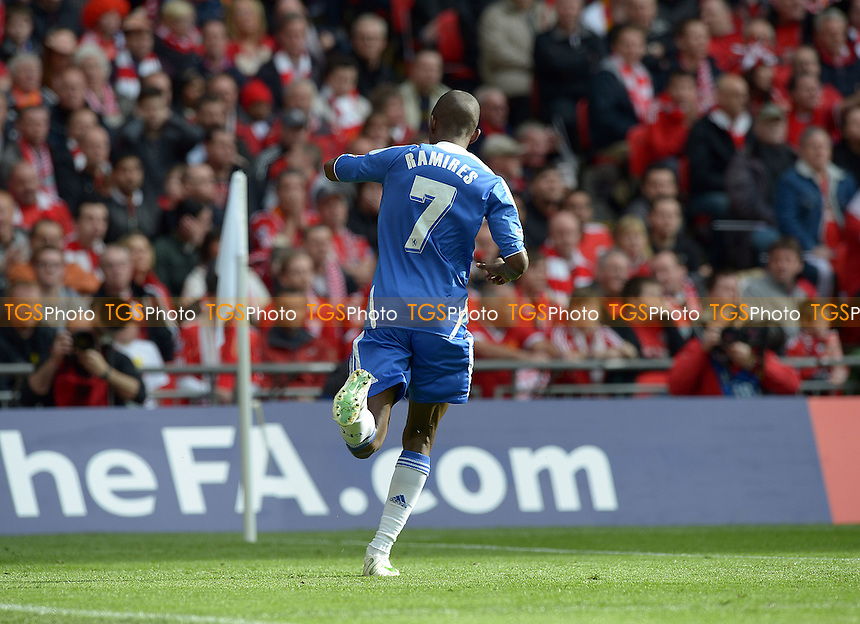 Ramires of Chelsea celebrates the first goal - Chelsea vs Liverpool - FA Challenge Cup Final at Wembley Stadium, London - 05/05/2012 - MANDATORY CREDIT: Martin Dalton/TGSPHOTO - Self billing applies where appropriate - 0845 094 6026 - contact@tgsphoto.co.uk - NO UNPAID USE.