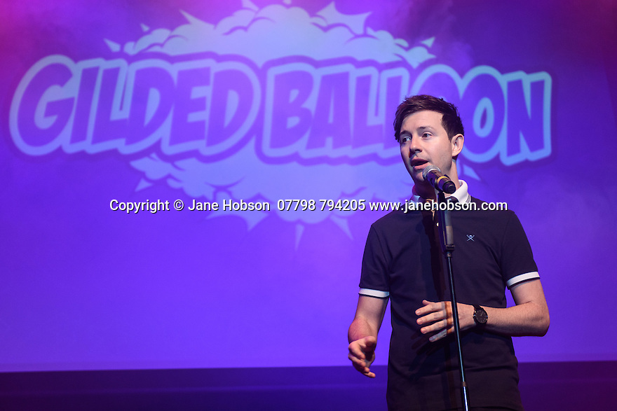 The Gilded Balloon launches its Edinburgh Festival Fringe 2016 programme. Picture shows: Nath Valvo