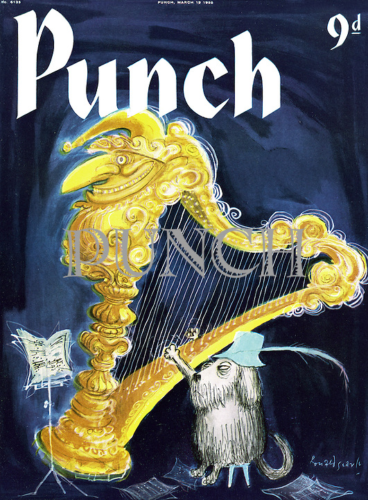 Punch cover 19 March 1958