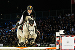 Nicola Philippaerts of Belgium riding on H&M Zilverstar T competes during the EEM Trophy, part of the Longines Masters of Hong Kong on 10 February 2017 at the Asia World Expo in Hong Kong, China. Photo by Marcio Rodrigo Machado / Power Sport Images