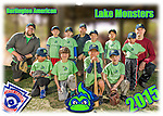 2015 Burlington American Lake Monsters