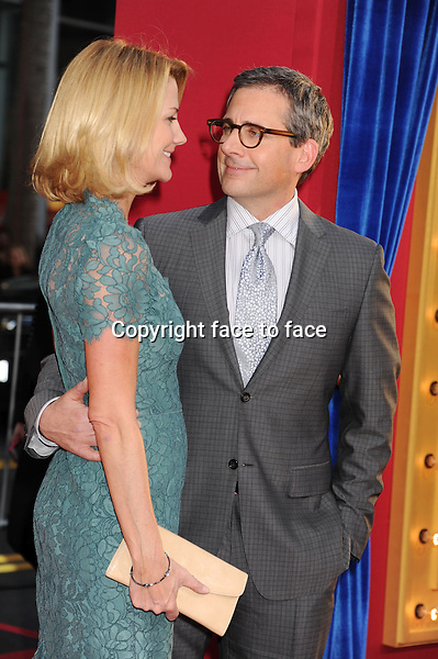 "HOLLYWOOD, CA - MARCH 11: Steve Carell and Nancy Carell arrive at the ""The Incredible Burt Wonderstone"" - Los Angeles Premiere at TCL Chinese Theatre on March 11, 2013 in Hollywood, California...Credit: Mayer/face to face..- No Rights for USA, Canada and France -"