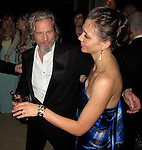 """Jeff Bridges and Maggie""""Gyllenhaal..Vanity Fair Oscar Party..Sunset Tower Hotel..Hollywood, CA, USA..Sunday, March 07, 2010..Photo ByCelebrityRadar.com.To license this image please call (212) 410 5354; or Email:CelebrityRadar10@gmail.com ;.website: www.CelebrityRadar.com."""