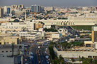 QATAR, Doha, downtown, view to parliament  / KATAR, Doha, Blick zum Parlament