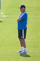 Coach, Carlo Ancelotti, during Real Madrid´s first training session of 2013-14 seson. July 15, 2013. (ALTERPHOTOS/Victor Blanco) ©NortePhoto