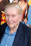 "Sumner Redstone arrives at the Los Angeles Premiere of ""The Love Guru"" on June 11, 2008 at Grauman's Chinese Theatre in Hollywood, California."