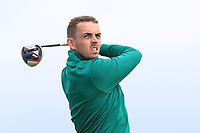 Alan Lowry (Esker Hills) on the 10th tee during Round 4 of The East of Ireland Amateur Open Championship in Co. Louth Golf Club, Baltray on Monday 3rd June 2019.<br /> <br /> Picture:  Thos Caffrey / www.golffile.ie<br /> <br /> All photos usage must carry mandatory copyright credit (© Golffile | Thos Caffrey)