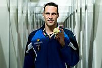 Fabio Scozzoli Esercito Imola Nuoto 100m Rana Uomini Oro<br /> <br /> Riccione 03/04/2019 Stadio del Nuoto di Riccione<br /> Campionato Italiano Assoluto Primaverile di Nuoto <br /> Nuoto Swimming<br /> <br /> Photo © Andrea Staccioli/Deepbluemedia/Insidefoto