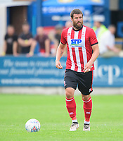 Lincoln City's Michael Bostwick<br /> <br /> Photographer Chris Vaughan/CameraSport<br /> <br /> Football Pre-Season Friendly (Community Festival of Lincolnshire) - Gainsborough Trinity v Lincoln City - Saturday 6th July 2019 - The Martin & Co Arena - Gainsborough<br /> <br /> World Copyright © 2018 CameraSport. All rights reserved. 43 Linden Ave. Countesthorpe. Leicester. England. LE8 5PG - Tel: +44 (0) 116 277 4147 - admin@camerasport.com - www.camerasport.com