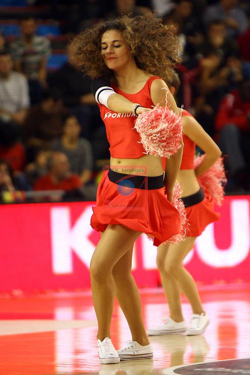 League ACB-ENDESA 2014/2015 - Game: 06.<br /> La Bruixa d'Or Manresa vs Bilbao Basket: 76-77.