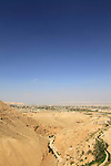 A view of Jericho from Wadi Qelt