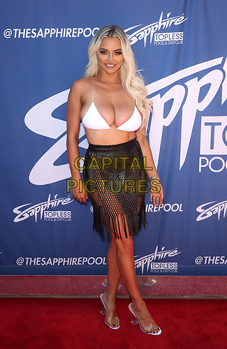 06 July 2019 - Las Vegas, NV - Lindsey Pelas. Lindsey Pelas hosts 4th of July weekend poolside bash at Sapphire Topless Pool and Dayclub.  <br /> CAP/ADM/MJT<br /> © MJT/ADM/Capital Pictures