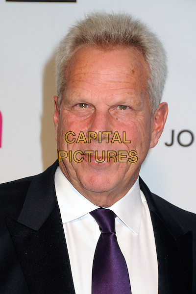 Steve Tisch.21st Annual Elton John Academy Awards Viewing Party held at West Hollywood Park, West Hollywood, California, USA..February 24th, 2013.oscars headshot portrait black white shirt suit purple tie.CAP/ADM/BP.©Byron Purvis/AdMedia/Capital Pictures.