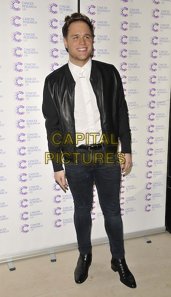 LONDON, ENGLAND - APRIL 09: Olly Murs attends the &quot;James's Jog-On to Cancer Part 2&quot; fundraising party for Cancer Research UK charity, Kensington Roof Gardens, Kensington High St., on Wednesday April 09, 2014 in London, England, UK.<br /> CAP/CAN<br /> &copy;Can Nguyen/Capital Pictures