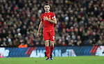 Jordan Henderson of Liverpool during the Premier League match at Anfield Stadium, Liverpool. Picture date: December 11th, 2016.Photo credit should read: Lynne Cameron/Sportimage