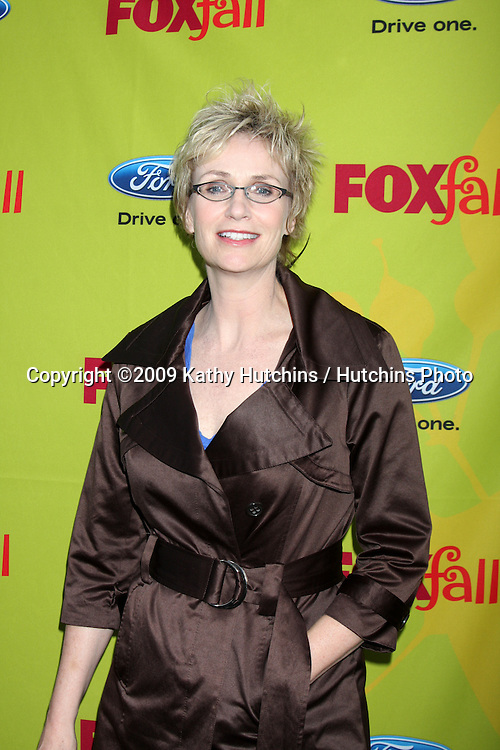 Jane Lynch  arriving at the FOX-Fall Eco-Casino Party at BOA Steakhouse  in West Los Angeles, CA on September 14, 2009.©2009 Kathy Hutchins / Hutchins Photo