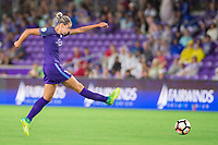 Orlando, FL - Saturday June 03, 2017: Alanna Kennedy during a regular season National Women's Soccer League (NWSL) match between the Orlando Pride and the Boston Breakers at Orlando City Stadium.