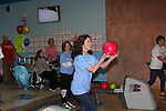 Jennifer Roszell bowls - 13th Annual Daytime Stars and Strikes Bowling for Autism on April 23, 2016 at Bowler City Lanes in Hackensack, NJ hosted by Jerry ver Dorn and Liz Keifer  (Photo by Sue Coflin/Max Photos)