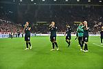 04.11.2018, Opel-Arena, Mainz, GER, 1 FBL, 1. FSV Mainz 05 vs SV Werder Bremen, <br /> <br /> DFL REGULATIONS PROHIBIT ANY USE OF PHOTOGRAPHS AS IMAGE SEQUENCES AND/OR QUASI-VIDEO.<br /> <br /> im Bild: Frust bei Niklas Moisander (SV Werder Bremen #18), Max Kruse (SV Werder Bremen #10), Maximilian Eggestein (#35, SV Werder Bremen), Davy Klaassen (SV Werder Bremen #30)<br /> <br /> Foto © nordphoto / Fabisch