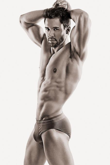 model: Justin Edwards