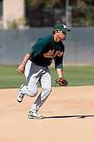 Leonardo Gil - Oakland Athletics - 2009 spring training.Photo by:  Bill Mitchell/Four Seam Images