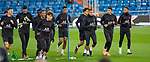PSG's Players Presnel Kimpembe, Marquinhos, Thiago Silva, Kylian Mbappe and Neymar during training session. <br /> November 25 ,2019.<br /> (ALTERPHOTOS/David Jar)