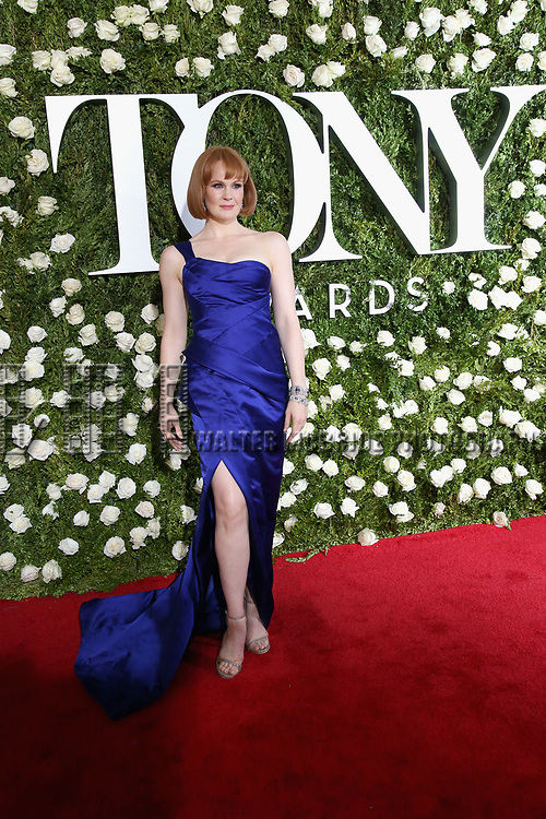 NEW YORK, NY - JUNE 11:  Kate Baldwin attends the 71st Annual Tony Awards at Radio City Music Hall on June 11, 2017 in New York City.  (Photo by Walter McBride/WireImage)