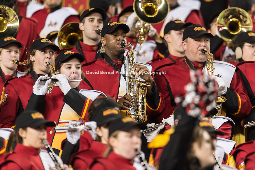 SANTA CLARA, CA - December 30, 2014: The 2014 Foster Farms Bowl: The Stanford Cardinal vs the University of Maryland Terrapins at Levi Stadium in Santa Clara, California. Final score Stanford Cardinal 45, Maryland Terrapins 21.