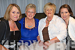 Having a wonderful time at Michael 'Fox' O'Connor's 60th birthday party held in The Brandon Hotel on Saturday night were l/r Elaine Geary, Gertie Dempsey, Phyllis Maher and Susie Curnane..   Copyright Kerry's Eye 2008