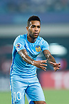Jiangsu FC Forward Alex Teixeira in action during the AFC Champions League 2017 Round of 16 match between Jiangsu FC (CHN) vs Shanghai SIPG FC (CHN) at the Nanjing Olympic Stadium on 31 May 2017 in Nanjing, China. Photo by Marcio Rodrigo Machado / Power Sport Images
