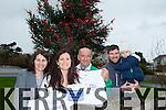 The Harrington family from Ballyduff are organising their third annual 5k Walk for cancer St Stephen's Day at 11am. Pictured were: Ailis (Harrington) Segal, Gillian (Harrington) McCarthy, Jack Harrington with Padraig and Aisling Harrington.