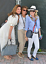 DELRAY BEACH, FL - NOVEMBER 23: Tanya Callau-Thicke (L)attends the 30TH Annual Chris Evert Pro-Celebrity Tennis Classic - Day 2 at the Delray Beach Tennis Center on November 23, 2019 in Delray Beach, Florida.  ( Photo by Johnny Louis / jlnphotography.com )