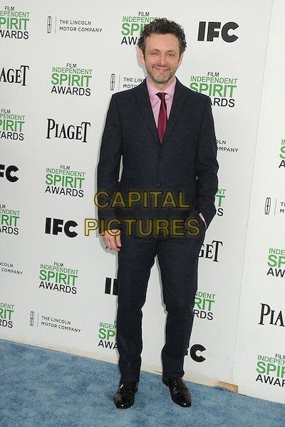 1 March 2014 - Santa Monica, California - Michael Sheen. 2014 Film Independent Spirit Awards - Arrivals held at Santa Monica Beach. <br /> CAP/ADM/BP<br /> &copy;Byron Purvis/AdMedia/Capital Pictures